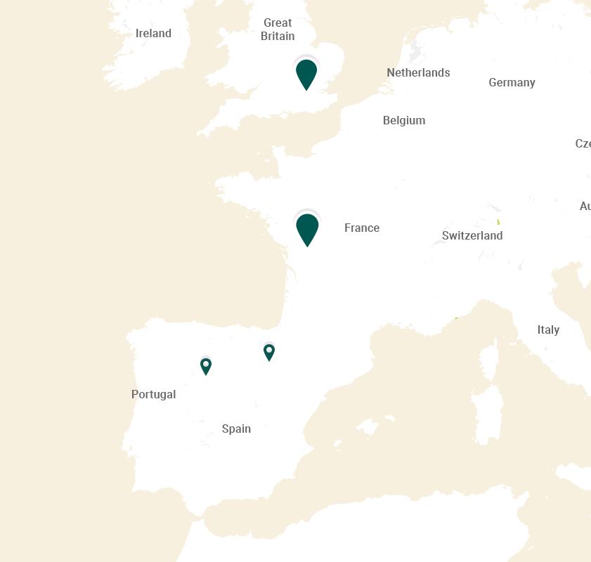 map europe snacks
